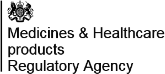 Medicines & Healthcare products Regulatory Agency logos